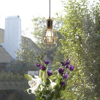 bukett prärieklockor guldlampa design house