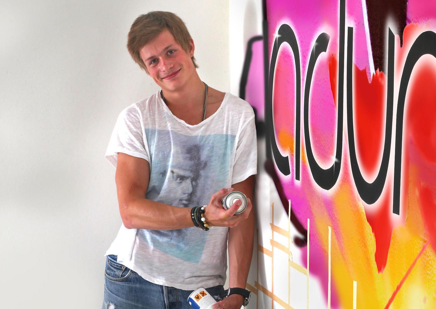 victor sprayfärg graffiti bandnamn